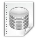database, file icon