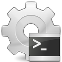 application, executable, script icon