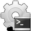 application, executable, script icon