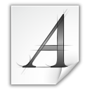 afm, application, font icon