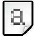 Bdf, font icon