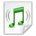 audio, flac, note icon