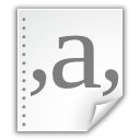 attachment, document, gramar icon