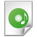 disc, file, music icon