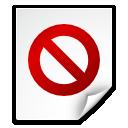 broken, file, no access icon