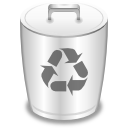 empty, recycle bin, trashcan icon