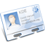 addressbook, card, contact, office icon