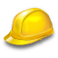building, equipment, hat, helmet, industry, job, safety, worker icon