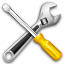 kit, settings, tools, wrench icon