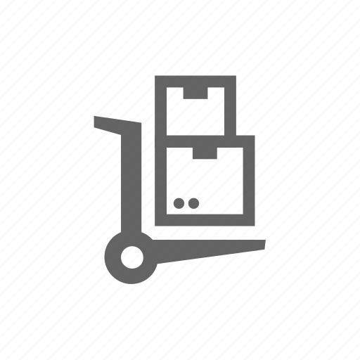 cart, delivery, order, package, shipping icon