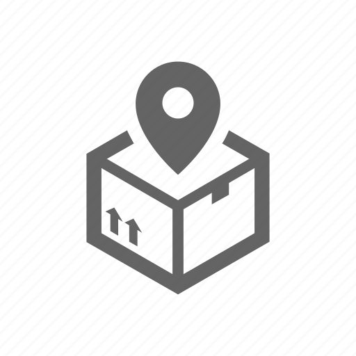 delivery, locator, order, package, parcel, tracking icon