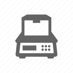delivery, order, package, parcel, scale, weight icon
