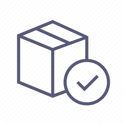box, delivered, package, packing, sent, shipping icon