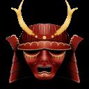 mask, samurai