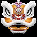 dragon, mask