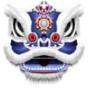 dragon, mask icon
