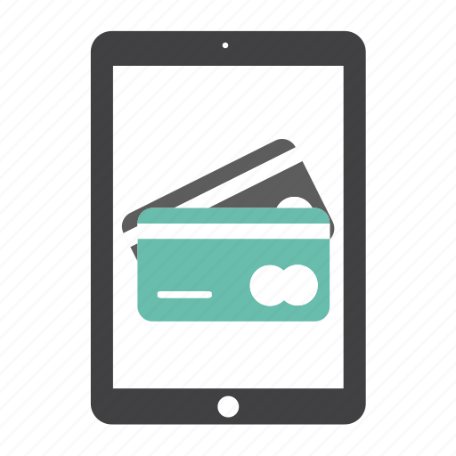 business, buy, card, credit, ipad, money, payment icon