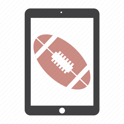 ball, football, ipad, nfl, sport, tablet icon