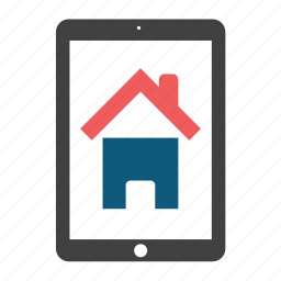 building, estate, home, house, ipad, office icon