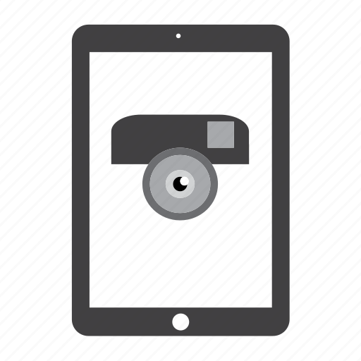 camera, device, instagram, ipad, pictures, tablet icon