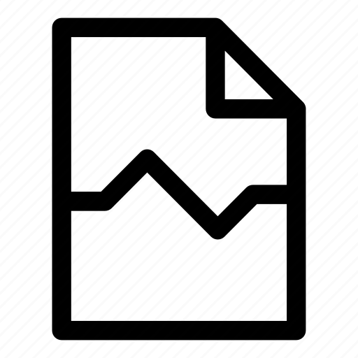 break, document, page, page break icon
