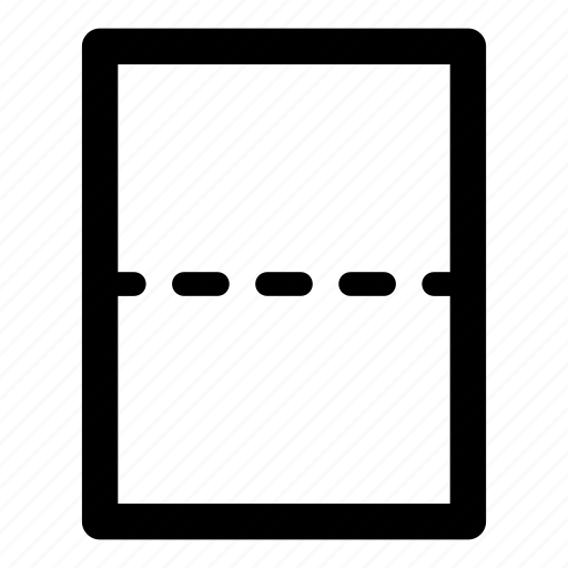 Page Break Icon Horizontal Rule Page Break