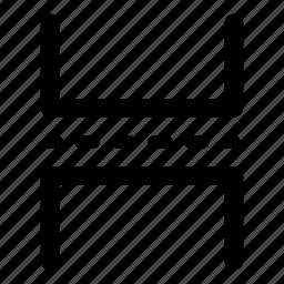 break, document, horizontal rule, page, page break icon