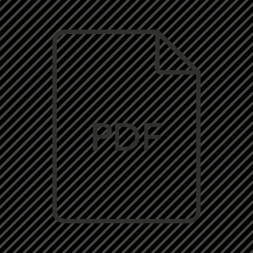 pdf document, pdf file, pdf file icon, pdf icon, portable document format, portable document format file icon