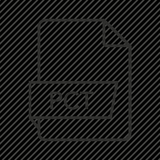 .pct, graphics file, metafile format, pct document, pct file, pct icon, pct icon file icon