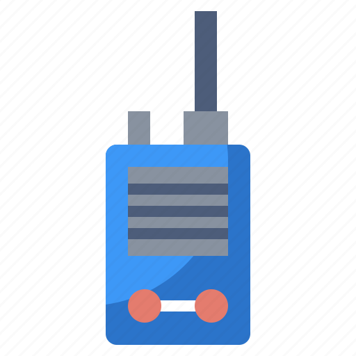 Conversation, electronics, frequency, radio, security, talkie, walkie icon - Download on Iconfinder