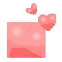 hearts, paisley icon