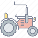 tractor, agriculture, farming, vehicle