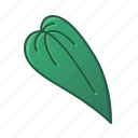green, heart shaped, icons, leaf, leaves, nature, palm, tropic, tropical icon