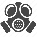 biohazard, chemical, gas, mask, outbreak, pandemic icon