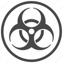 biohazard, chemical, outbreak, pandemic, virus icon
