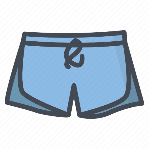 Beach, clothes, filled, outline, pool, shorts icon - Download on Iconfinder