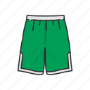 basketball shorts, clothing, jersey, male shorts, pants, shorts, sports wear icon