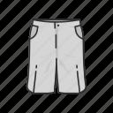 chino, clothing, fashion, garment, jeans, pants, shorts icon