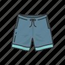 broadshorts, clothing, fashion, garment, men's short, swim short, swim wear