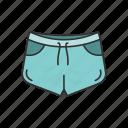 broadshort, clothing, denim shorts, dolphin short, fashion, garment, short icon