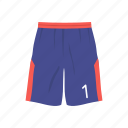 basketball short, fashion, jersey, male short, sports, sports short icon