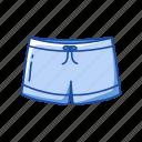 athlete short, broadshort, clothing, dolphin shorts, female short, garment, short