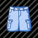 cargo shorts, garment, male shorts, military shorts, pants, shorts, trouser shorts