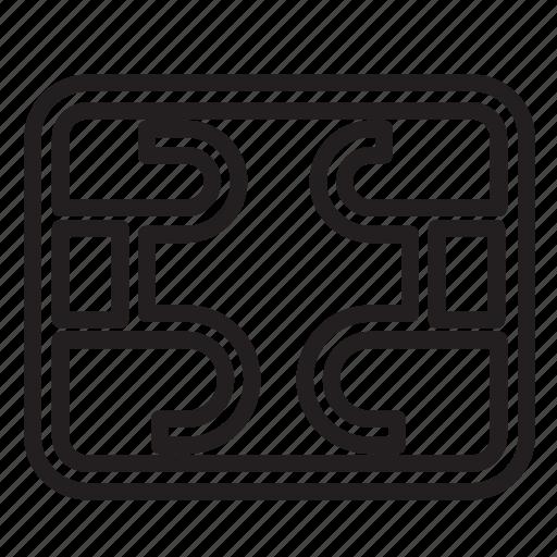 card, credit, normal, paypal, regular, sim, symetry icon
