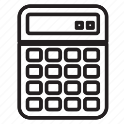 addition, calculator, math, strategy, sum, teacher, vimeo icon