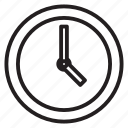 hour, clock, work, hours, afternoon, time, day icon