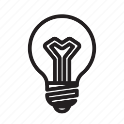 brain, brainstorming, bulb, idea, light, on, storm icon