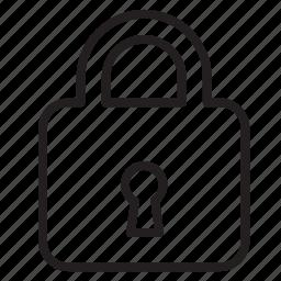 access, block, close, keys, lock, private, secure icon
