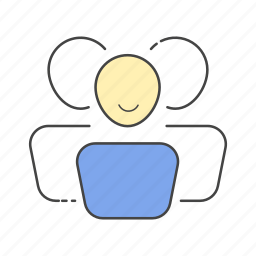 community, leader, leadership, people, social, team, users icon
