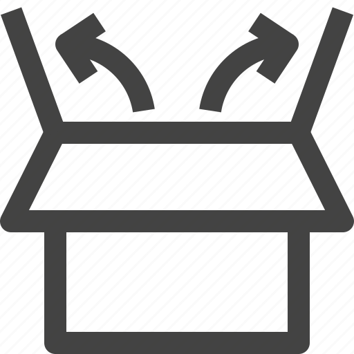 box, cardboard, cube, delivery, package, parcel, product icon